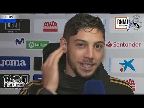 #EibarRealMadrid Declaraciones de Fede Valverde post Eibar 0-4 Real Madrid Jornada 13
