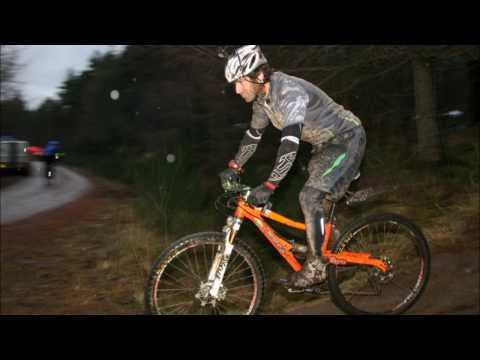 Guy Martin at The Strathpuffer 24 Hour Mountain Bike Race 2014.