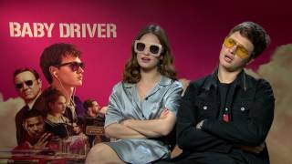 Video Ansel Elgort & Lily James reveal their coolest, favourite moment in Baby Driver MP3, 3GP, MP4, WEBM, AVI, FLV Januari 2018