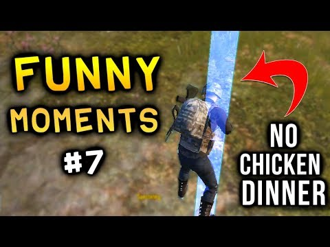 Funny clips - New PUBG Mobile Funny Moments Glitches, Bugs, Fails & wins Compilation #7  PUBGM WTF moments