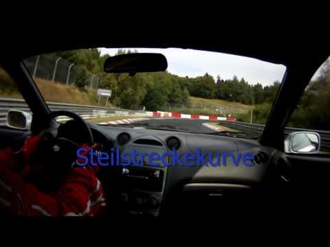 Nurburgring Nordschleife Corner Names kurvennamen Toyota Celica VVTi GT HD 720P