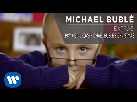 Boy + Girl Love Michael Bublé's Christmas