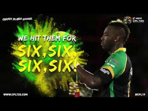 WE HIT THEM FOR SIX,SIX,SIX,SIX! #CPL19