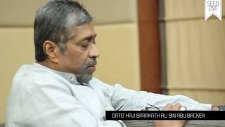 SEED 2011 EXCLUSIVE INTERVIEW SESSION - DATO' HAJI BARAKATH ALI (HD)