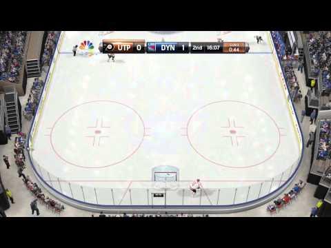 NHL 15 GOALIE GLITCH LEADS TO GOAL! WTF!?