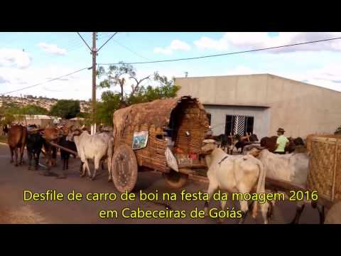 CARRO DE BOI-- Cabeceiras de Goiás--Canga do Tempo (Lourenço e Lourival)