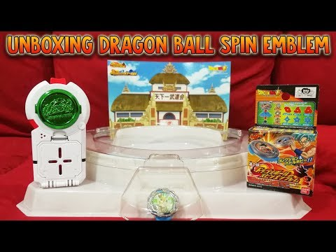 WHOAH BEST! Unboxing Dragon Ball Super Spin Emblem From HobbyLink Japan