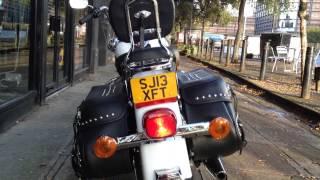 9. 2013 HARLEY-DAVIDSON HERITAGE SOFTAIL CLASSIC FLSTC @ West Coast Harley-Davidson, Glasgow, Scotland