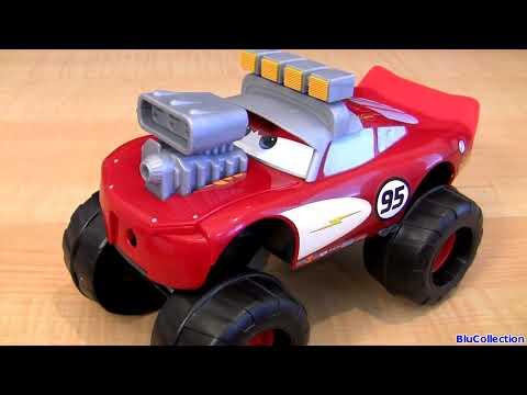 Monster Truck Gear Up n Go Lightning McQueen CARS 2