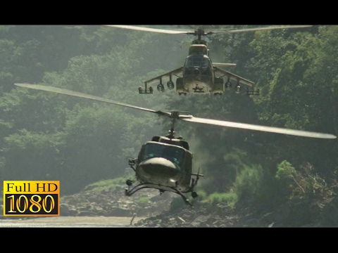 Rambo First Blood 2 (1985) - Helicopter Vs Helicopter Scene (1080p) FULL HD