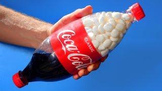 8 Crazy Coca Cola Experiments