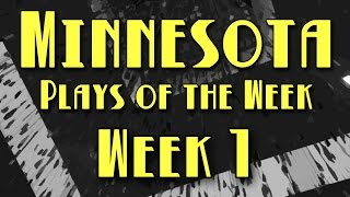 Minnesota Plays of the Week 2017 – Week 1