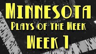 Minnesota Plays of the Week 2017 – Week 1