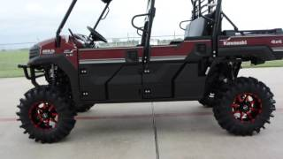 6. 2016 Kawasaki Mule Pro FXT EPS LE with CATVOS Lift & 30s Overview and Review