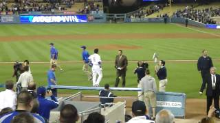 Dodgers Andre Ethier Walk Off Grand Slam vs. Brewers May 6th 2010