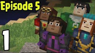 "Minecraft: Story Mode - EPISODE 5 - Walkthrough ""ORDER UP"" Gameplay (Part 1)"