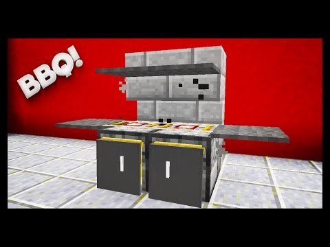 Minecraft - How To Make A BBQ