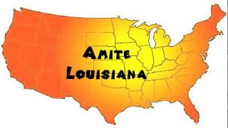 Amite (LA) United States  City new picture : How to Say or Pronounce USA Cities — Amite, Louisiana