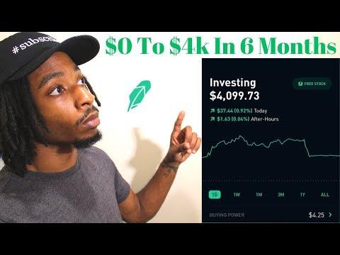 2019 Robinhood Portfolio | $4k In 6 Months