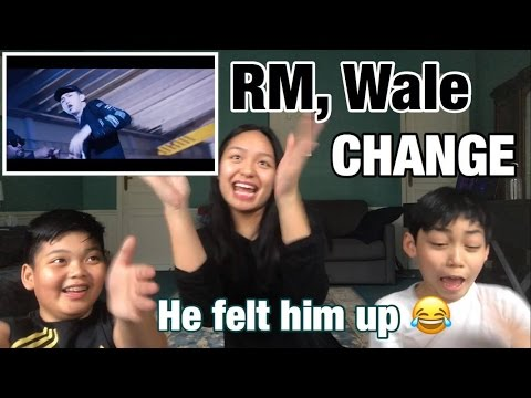[ENG SUB] French REACTION to RM, Wale 'Change'l 4KPOP