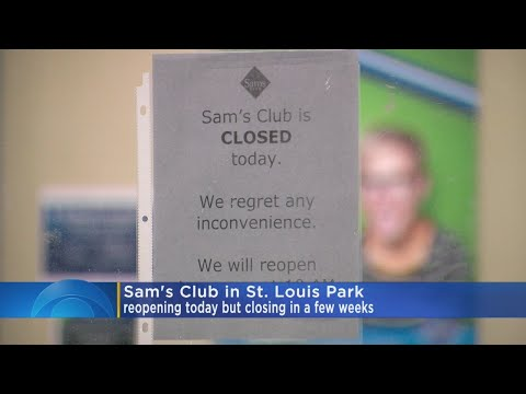 2 Sam's Club Stores In Minnesota Closing Down