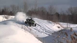 6. ARCTIC CAT WILDCAT 1000 JUMP IN SNOW