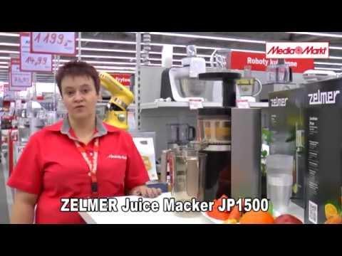 Wyciskarka ZELMER JP1500 / ZJP1500B Czarny
