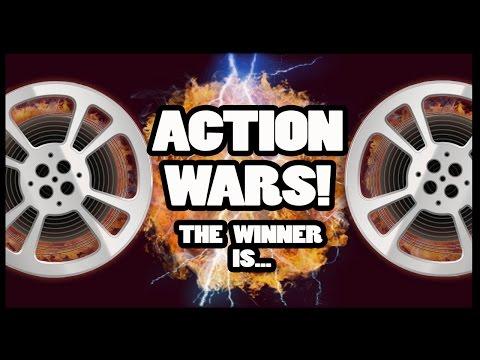 Action Hero Wars Winner is Crowned! - Movie Wars!