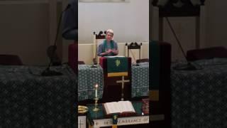 Sermon 8/21/2016