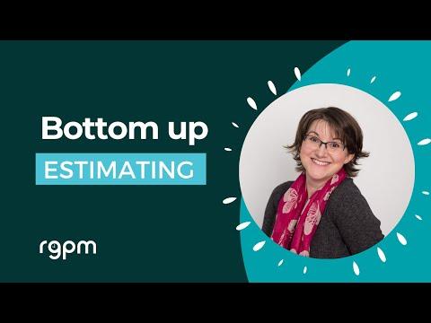 Bottom up estimating