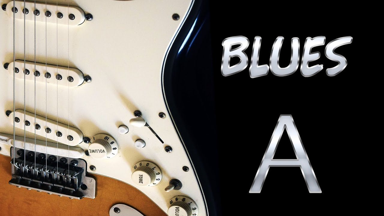 Slow Acoustic Guitar Blues Backing Track in A
