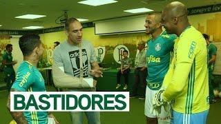 Os BASTIDORES da vitória do Palmeiras sobre o Vitória (BA), no domingo (7), que valeu o retorno do Verdão à liderança do Campeonato Brasileiro.