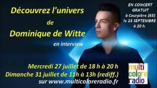 INTERVIEW - MULTICOLORE RADIO - 27/07/16