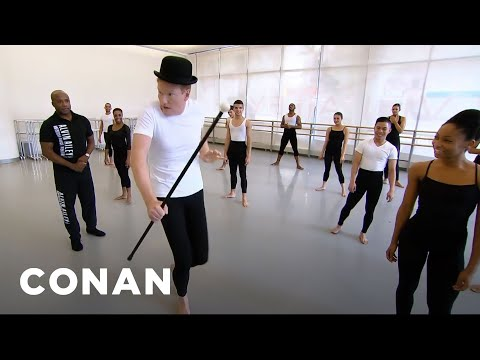 Conan O Brien Learns to Dance at Alvin Ailey