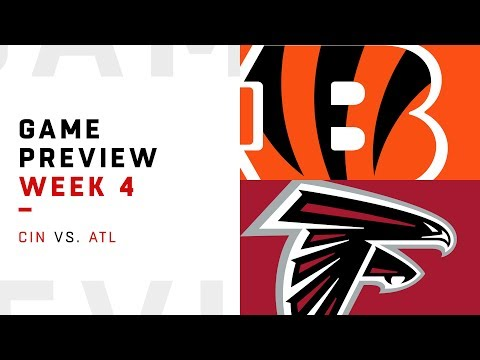 Video: Cincinnati Bengals vs. Atlanta Falcons | Week 4 Game Preview | NFL Playbook