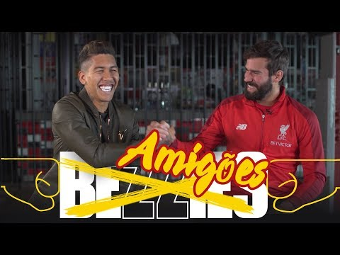 Download BEZZIES with Alisson and Firmino | Who is Bobby's favourite Brazilian?