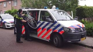 Grote hoeveelheid aangetroffen fietsen