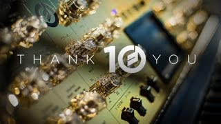 10th Anniversary Minimoog Voyager - YouTube