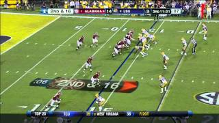 Eddie Lacy vs LSU and Texas A&M (2012)
