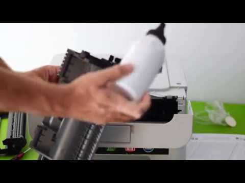 Toner Refill/Reset on Brother HL 2130 Printer