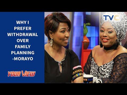 Morayo Reveals Why She Prefers Withdrawal Method