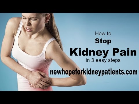 How To Relieve Kidney Pain in 3 Easy Steps