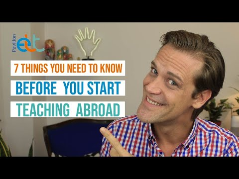 7 Things You Need to Know Before You Start Teaching Abroad