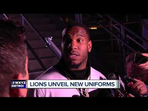 Lions unveil four new Nike uniforms