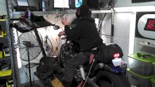 10. 200 Horsepower Victory Vegas dyno run