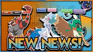 GRASS GHOST ROWLET?! STARTER FINAL TYPINGS REVEALED! Pokemon Sun and Pokemon Moon News by aDrive