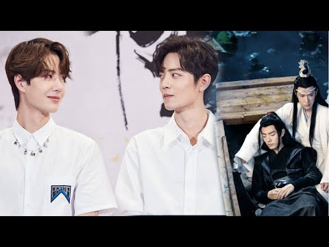 [BJYX]  Yibo and Xiao Zhan gazing at each other   Wuji - The Untamed (Song cover/FMV)