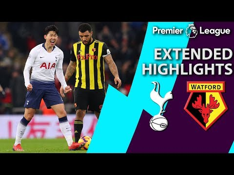 Video: Tottenham v. Watford | PREMIER LEAGUE EXTENDED HIGHLIGHTS | 1/30/19 | NBC Sports