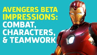 Avengers Beta Hands-On Impressions: Combat, Characters, And Teamwork by GameSpot