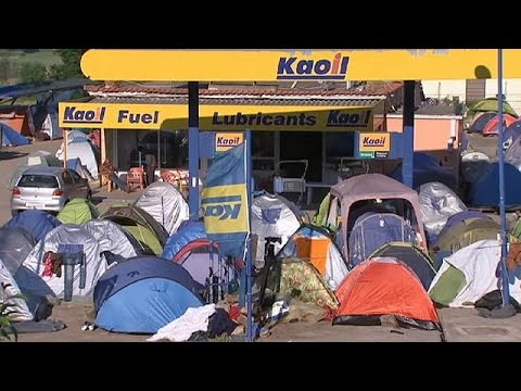 Ειδομένη: Ελάχιστοι πρόσφυγες και μετανάστες παραμένουν σε πρόχειρους καταυλισμούς